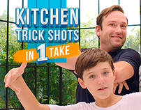 Epic Beko Kitchen Trick Shots in 1 Take | EuroBasket 20