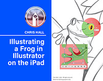 Illustrating a Frog in Illustrator on the iPad