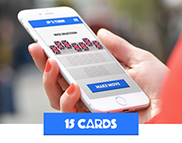 15 Cards - Turn based card game