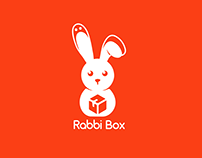 Rabbi Box Modern Logo