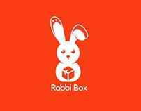 Rabbi Box Modern Logo