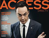 ACCESS magazine - layouts