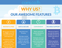 Infographic for coins.co.th