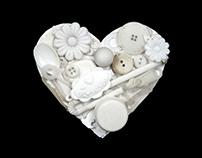 Beach Plastic Valentine Cards