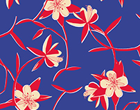 FLORAL PATTERNS II textile design