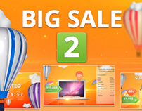 Big Sale 2 | Marketing Tool | After Effects template