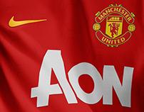 Manchester United Nike concept kit 2018/19