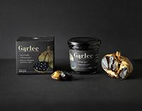Garlee - Black Garlic branding and packaging design