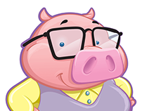 Three Little Pig's Character Designs