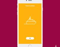Tour Planner app
