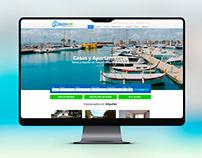 Web de Inmobiliaria Fincasas.net para net2rent