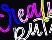 Creative Ruts Lettering