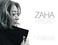 Tribute to - Zaha Hadid (Testimonial Design)