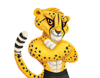 Character Design- Cheetay.pk