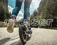 Сruiser for kick scooter
