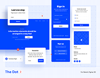 The Dot 2 – Wireframe UI Kit