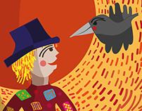 illustration for kids newspaper