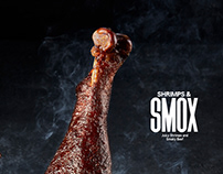 SMOX MENU - Juicy shrimps & Smoky beef