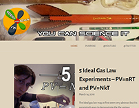 You Can Science It - Social Media and Logo Design