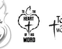 To the Heart of his Word logo design