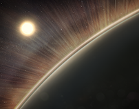 Solar Wind - NASA Illustration for Time Magazine