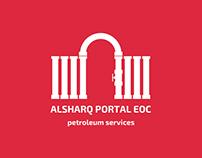 ALSHARQ PORTAL EOC Brand identity