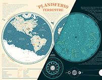 PLANISFERIOS / PLANISPHERES