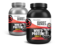 Fitness Shake Labels - WHEY