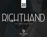 RightHand - Free Font