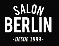 SALON BERLIN - Barbershop/ Logo por Bolivia