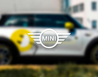 Car sticker - MINI Invelt