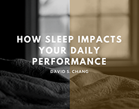 How Sleep Impacts Your Daily Performance