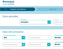 Oncosalud - Register of Clients