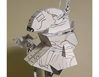 Dogo Paper toy design