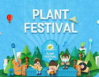 Plant Festival | Web, Mobile