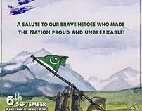 Pakistan Defense Day 6 Sep, 2018