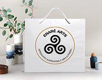 Redesign: Logo Enarê Arts (ago/2019)