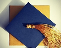 Saint Andrews Graduation Invites (Freelance Work)