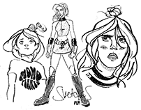 Sketches - Character Design (I)