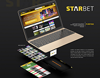 STARBET UI/UX Design Casino / Bookmakers Website