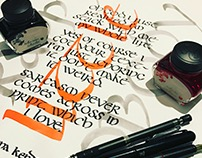 Anna Kendrick - Calligraphy project