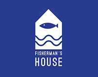FISHERMAN`S HOUSE | RIVER HOUSE LOGO