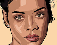 Portrait Illustrations December 2018