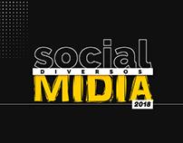 Social Mídia Diversos   2018