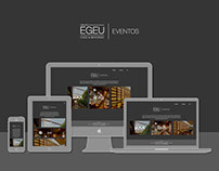 Egeu Eventos - Website