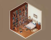 Murph's Room in Interstellar — The Rooms Project