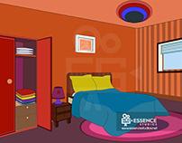 A Bed Room I Essence studios