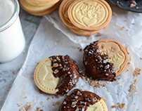 Butter choco cookies