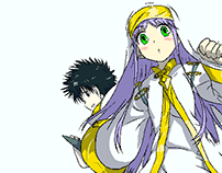 A Certain Magical Index Pop Art