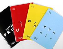 Adrian Frutiger Type Designer Booklets